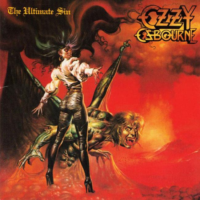 Ozzy Osbourne - The Ultimate Sin אלבום להורדה